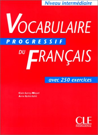 Vocabulaire Progressif du Francais : Intermediate Text 1st edition cover