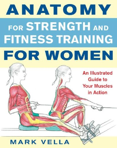Anatomy for Strength and Fitness Training for Women   2008 edition cover