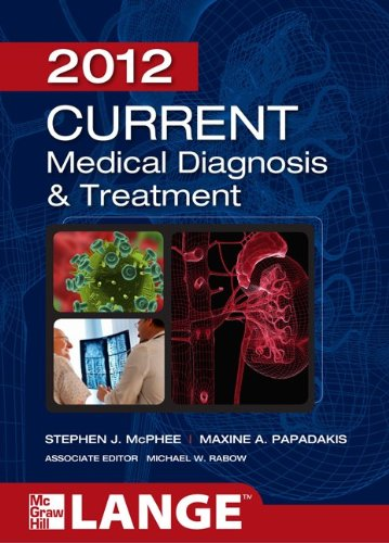 Medical Diagnosis and Treatment 2012  51st 2012 edition cover