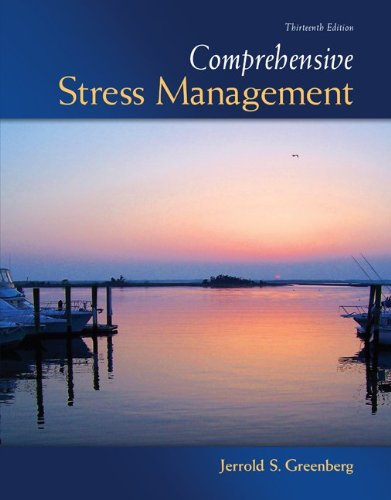 Comprehensive Stress Management 13th 2012 9780073529721 Front Cover