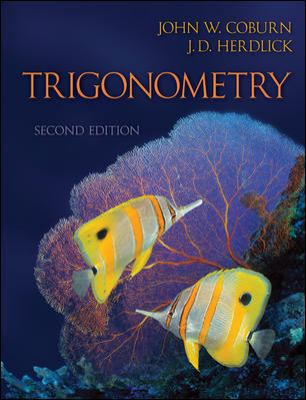 Trigonometry - Annotated Instructor's Edition  N/A 9780077282721 Front Cover