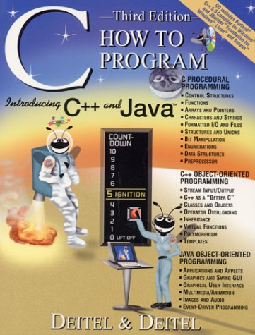 C How to Program  3rd 2001 edition cover