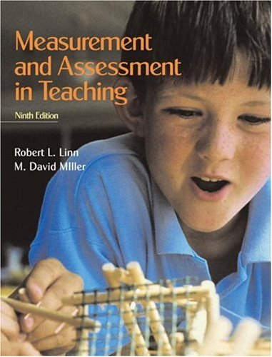 Measurement and Assessment in Teaching  9th 2005 (Revised) edition cover
