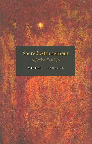 Sacred Attunement A Jewish Theology  2010 edition cover