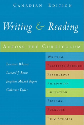 WRITING+RDG.ACROSS THE CURR.>C 1st edition cover