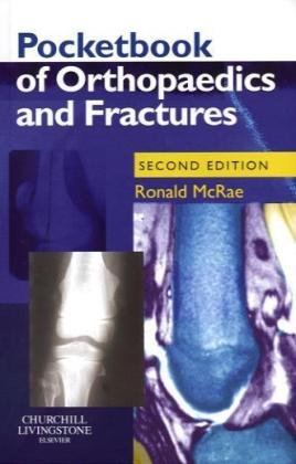 Pocketbook of Orthopaedics and Fractures  2nd 2006 (Revised) edition cover