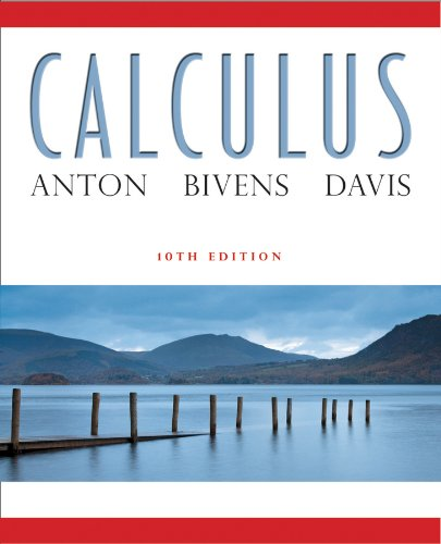 Calculus  10th 2012 edition cover