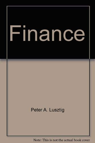 Managerial Finance in a Canadian Setting  5th 1996 9780471640721 Front Cover