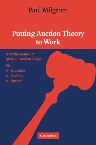 Putting Auction Theory to Work   2003 edition cover