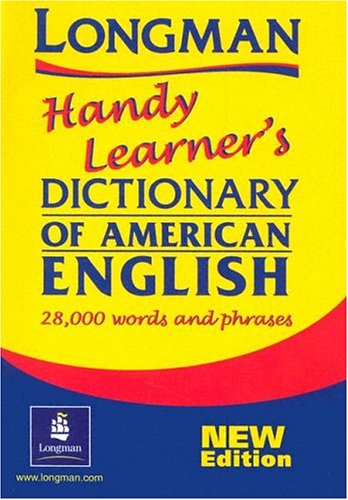 Longman Handy Learner's Dictionary of American English  2nd 2000 (Supplement) edition cover