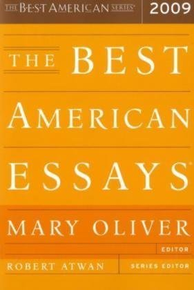 Best American Essays 2009   2009 edition cover