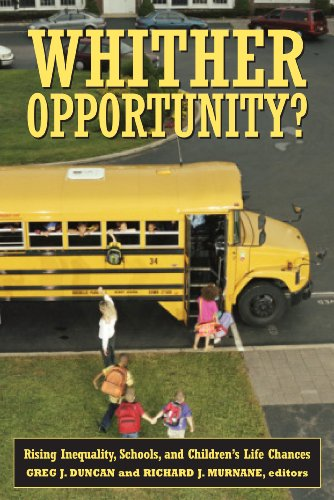 Whither Opportunity? Rising Inequality and the Uncertain Life Chances of Low-Income Children  2011 edition cover