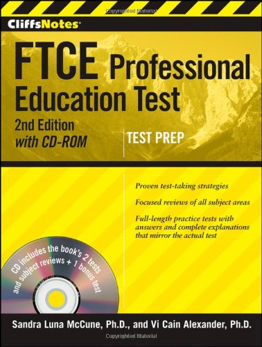 FTCE Professional Education Test  2nd 2012 9781118014721 Front Cover