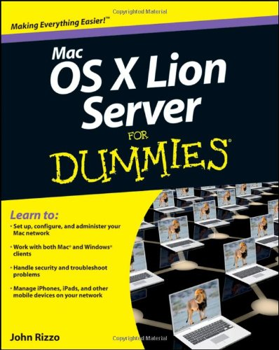 Mac OS X Lion Server for Dummies   2011 9781118027721 Front Cover