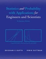 Statistics and Probability for Engineers and Scientists   2012 9781118098721 Front Cover