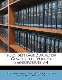 Klio : Beiträge Zur Alten Geschichte, Volume 8,andnbsp;issues 3-4 N/A edition cover
