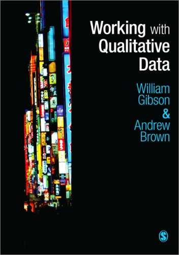 Working with Qualitative Data   2009 edition cover