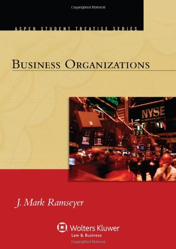 Business Organizations   2012 edition cover