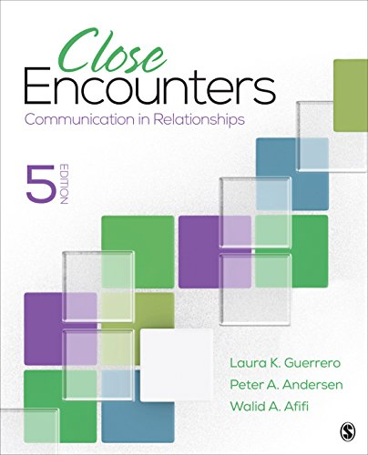 Close Encounters: Communication in Relationships  2017 9781506376721 Front Cover
