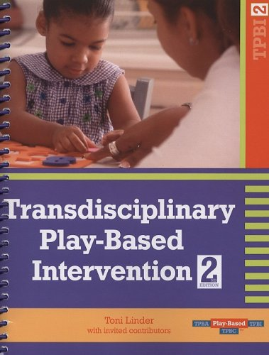 Transdisciplinary Play-Based Intervention  2nd 2008 edition cover