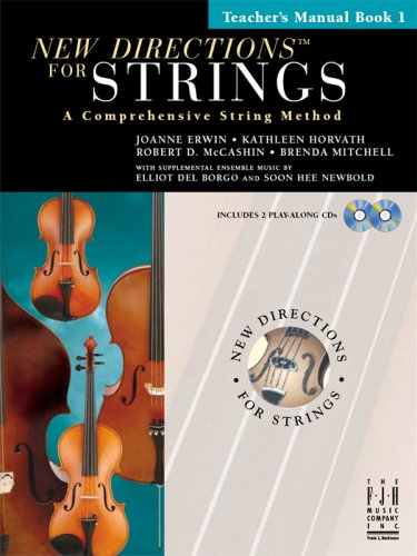 NEW DIRECTIONS F/STRINGS-VIOLIN,BOOK 1 N/A edition cover