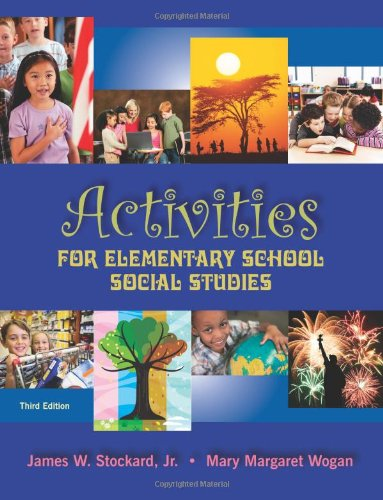 Activities for Elementary School Social Studies  3rd edition cover