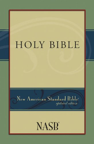 New American Standard Bible Paberback Paberback  1995 (Revised) edition cover