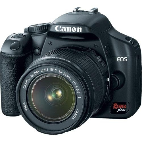 Canon Rebel XSi DSLR Camera with EF-S 18-55mm f/3.5-5.6 IS Lens (OLD MODEL) product image