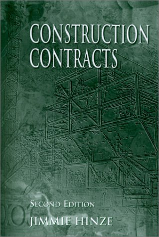 Construction Contracts  2nd 2001 (Revised) edition cover