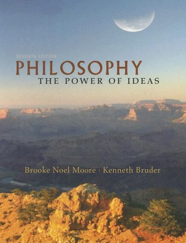Philosophy The Power of Ideas 7th 2008 9780073535722 Front Cover