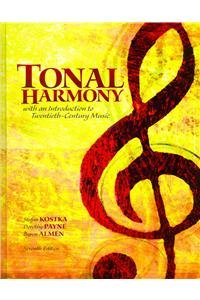 Tonal Harmony - With Workbook and Audio CD:   2011 9780077933722 Front Cover