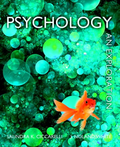 Psychology An Exploration  2010 edition cover
