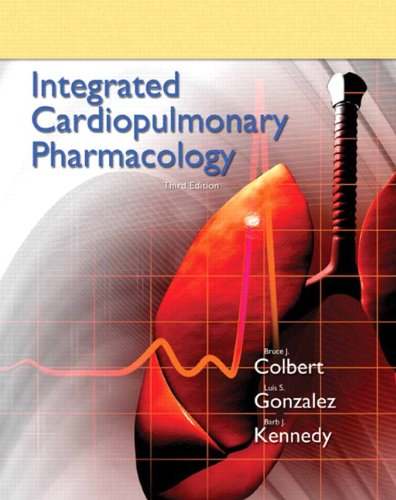 Integrated Cardiopulmonary Pharmacology  3rd 2012 edition cover
