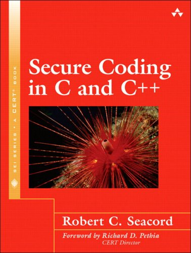Secure Coding in C and C++   2006 edition cover