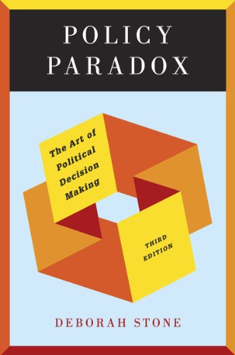 Policy Paradox The Art of Political Decision Making 3rd 2012 9780393912722 Front Cover
