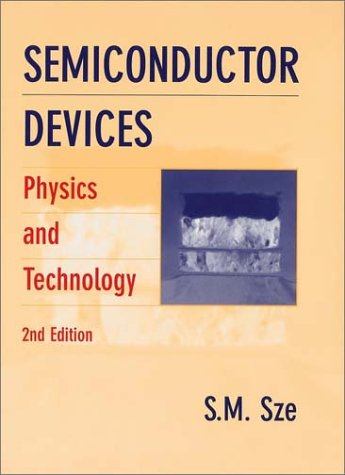 Semiconductor Devices Physics and Technology 2nd 2002 (Revised) 9780471333722 Front Cover