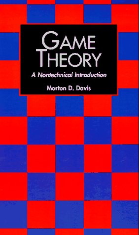 Game Theory A Nontechnical Introduction  1997 (Reprint) edition cover
