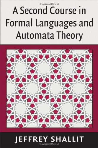 Second Course in Formal Languages and Automata Theory   2009 9780521865722 Front Cover