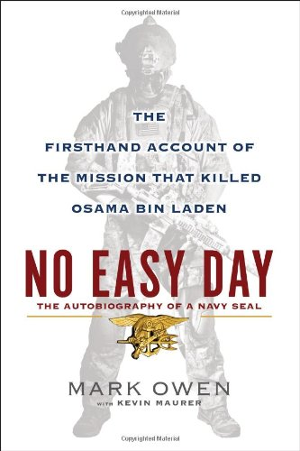 No Easy Day The Firsthand Account of the Mission That Killed Osama Bin Laden  2012 edition cover