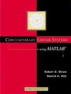 Contemporary Linear Systems Using MATLAB�  2nd 2000 (Revised) 9780534371722 Front Cover