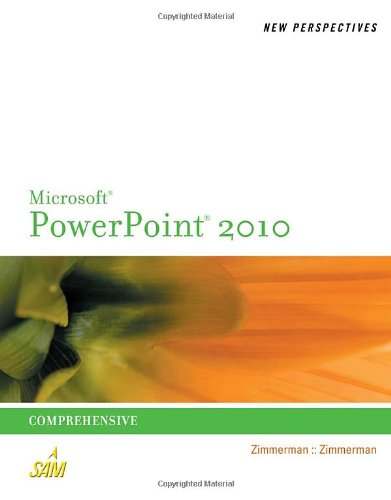 Microsoft� Powerpoint� 2010 Comprehensive  2011 edition cover