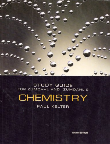 Zumdahl's Chemistry  8th 2010 (Guide (Pupil's)) 9780547168722 Front Cover