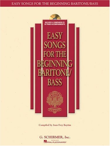 Easy Songs for the Beginning Baritone/Bass  N/A edition cover