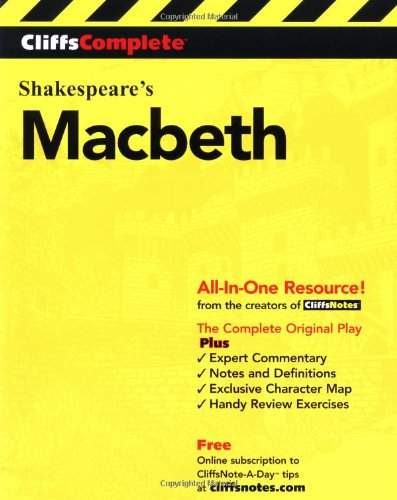 Shakespeare's Macbeth  3rd 2000 edition cover