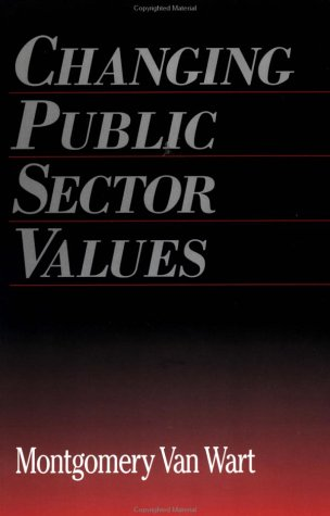 Changing Public Sector Values   1998 edition cover