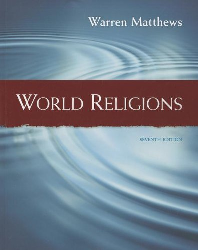 World Religions  7th 2013 edition cover