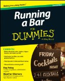 Running a Bar for Dummies and Reg  2nd 2014 edition cover
