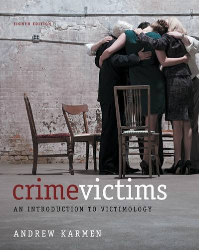 Crime Victims An Introduction to Victimology 8th 2013 edition cover