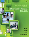 Problem Solving Cases in Microsoft Access and Excel:   2015 edition cover