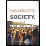 Disability, Society, and the Individual  2nd 2008 edition cover